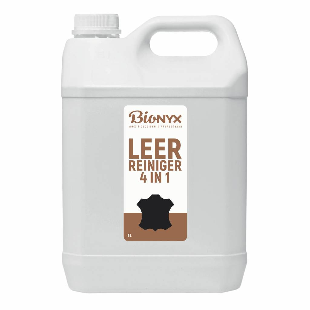 Biologische Leerreiniger 4 in 1 van BIOnyx | Leerreiniger 4 in 1 (5 liter)
